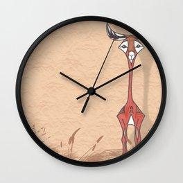 Good Looking Gerenuk Wall Clock