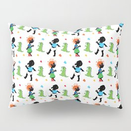 Tommy and Chucky Pattern Pillow Sham
