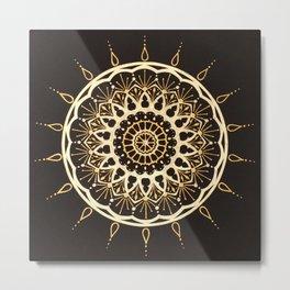 Kadijah Mandala Metal Print