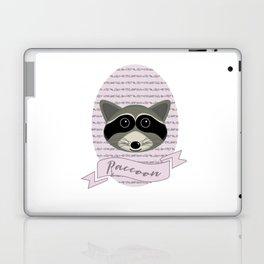 Mevrouw Raccoon Laptop & iPad Skin