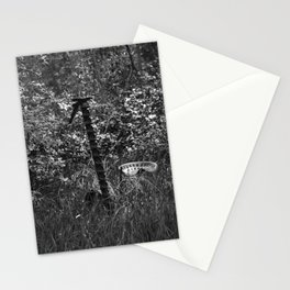 Antique Grass Cutter in a Field Stationery Cards