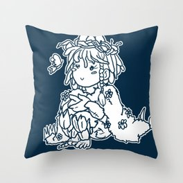 A little Druid Throw Pillow