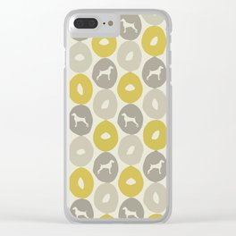 Bagels and Weims Clear iPhone Case