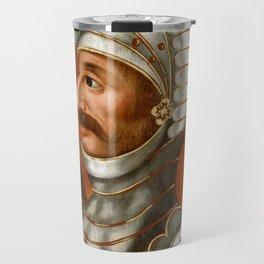 Vintage William The Conqueror Painting Travel Mug