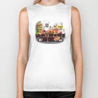 sloths Biker Tanks featuring Sloths by Big AL