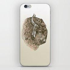 Buffalo Portrait iPhone Skin