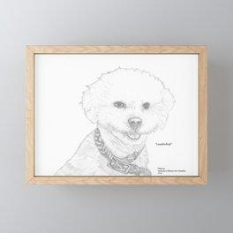 Portrait of Lambchop Framed Mini Art Print