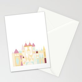 Happy Castle - Pink Variation Stationery Cards