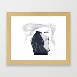 Pop Culture - Smoke Framed Art Print
