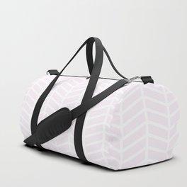 Winter 2019 Color: Pink Cream in Chevron Duffle Bag