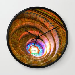 The Round Window Mathias Church Budapest Wall Clock