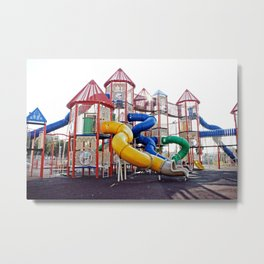Kids Play Ground Metal Print