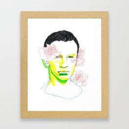 frank o'hara Framed Art Print