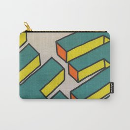 Sutro Baths Abstract Carry-All Pouch