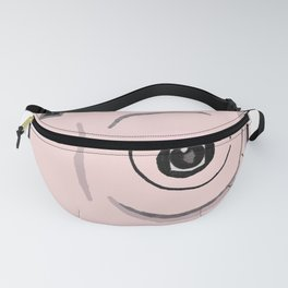 Pink Instax Camera with Photo Fanny Pack