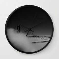 Fogged In Wall Clock