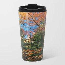 Autumn Forest Photograph Travel Mug