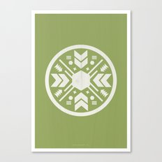 Aztec No. 1 Canvas Print