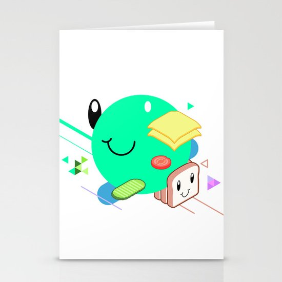 Tasty Visuals - Sandwich Time (No Grid) Stationery Cards