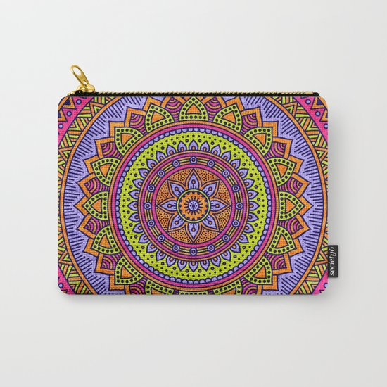 Hippie mandala 56 Carry-All Pouch