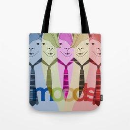 Lama Hipster Design Tote Bag
