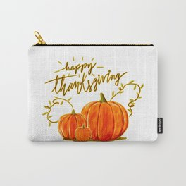 Happy Thanksgiving (2) Carry-All Pouch