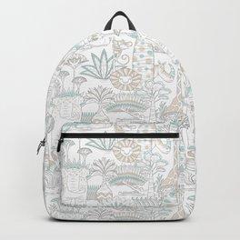 Baobab safari party pattern Backpack