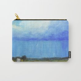 A Perfect Storm, Abstract Landscape Art Carry-All Pouch