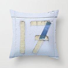 Number 17 Throw Pillow