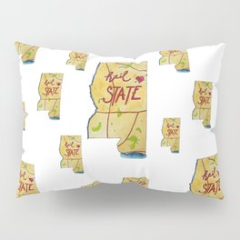 Mississippi State - Hail State! Pillow Sham