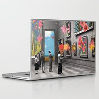 gray Laptop & iPad Skins featuring Natural History Museum by Eugenia Loli