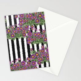 Aster - Birth Month Flower for September Stationery Cards