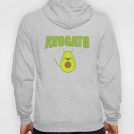 Avogato Funny Spanish Cat for Avocado Lover Hoody
