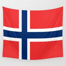 Flag of norway Wall Tapestry