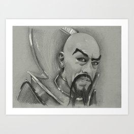 Ming Art Print