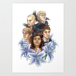Raven Cycle Art Print