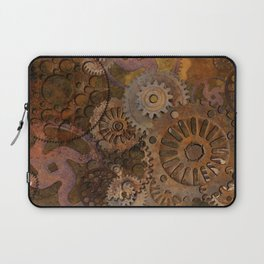 Changing Gear - Steampunk Gears & Cogs Laptop Sleeve