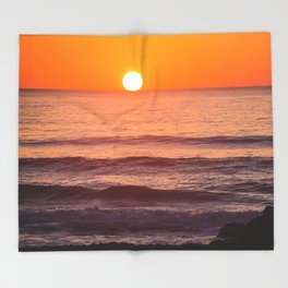 South Ponto Sunset 02 Throw Blanket