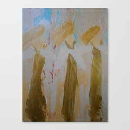 "Angel Painting, ""Three Sisters"" Canvas Print"