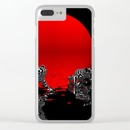how are you today? Clear iPhone Case