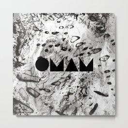 OMAM MARBLE Metal Print