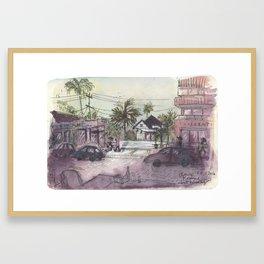 Abbot Kinney Blvd Framed Art Print