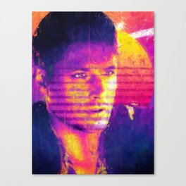 Synthwave Canvas Print
