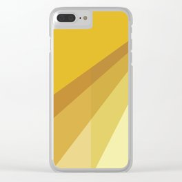 New Heights - Gold Clear iPhone Case