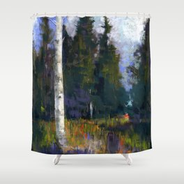 The Sentinel Shower Curtain