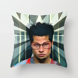 The Wonders of Edward's imagination Throw Pillow