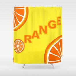 Vitamin C Shower Curtain