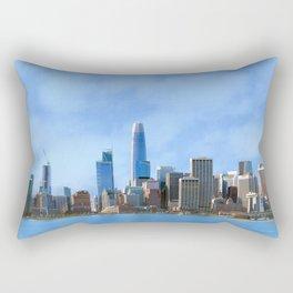 Downtown San Francisco Rectangular Pillow