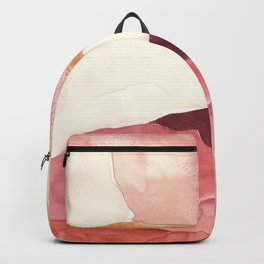 Abstract Love, Peace and Hope, Contemporary Fine Art Backpack