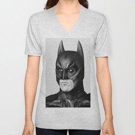 The Bat Drawing Unisex V-Neck